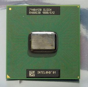 Intel Mobile Pentium III-M Tualatin SL5CH 1 GHz socket 479 processor - CPU PIII P3 1GHz S479 laptop notebook