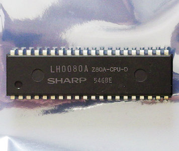 Sharp Z80 Z80A LH0080A 4 MHz DIP40 CPU - 4MHz processor Sharp MZ-700 vintage retro 80s