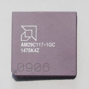 AMD AM29C117-1GC 12 MHz PGA68 processor - CPU 12MHz vintage retro 80s