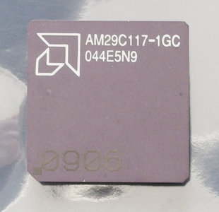 AMD AM29C117-1GC 12 MHz PGA68 processor - CPU 12MHz vintage retro 80s #2