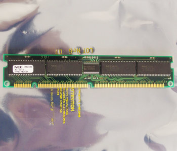 NEC MC-320-60 16 MB 16MB 60 ns 60ns 168-pin DIMM parity EDO RAM memory module