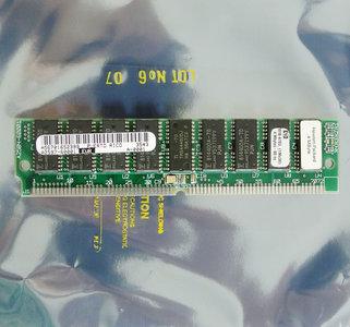 HP 1818-4703 4 MB 4MB 80 ns 80ns 72-pin SIMM parity FPM RAM memory module - vintage retro 90s