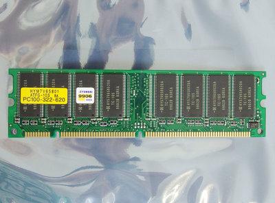 Hyundai HYM7V65801 ATFG-10S 64 MB 64MB PC100 CL3 168-pin DIMM SDRAM memory module