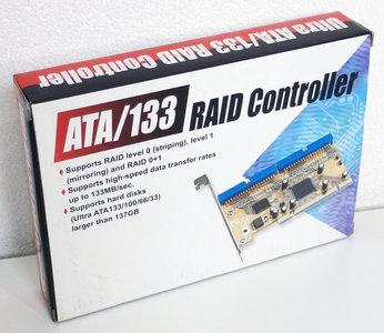 New ATA/133 RAID controller dual PATA IDE PCI card adapter - CD-RW 52x CD-R/RW burner IDE