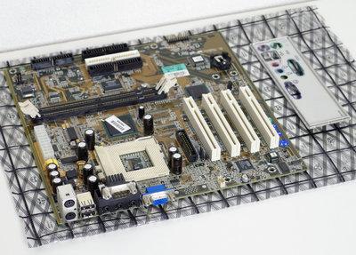 Compaq Presario 5456 P/N 140709-102 socket 370 mATX PC motherboard main system board - 89094 S370