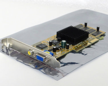 PowerColor CMX8L NVIDIA GeForce2 MX200 32 MB 32MB VGA composite graphics video AGP PC card adapter