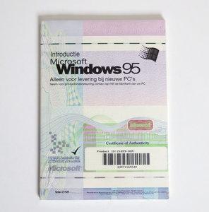 New & sealed Microsoft Windows 95 OSR 2.1 OEM USB support Dutch CD-ROM PC operating system w/ product key - NOS vintage retro 90s