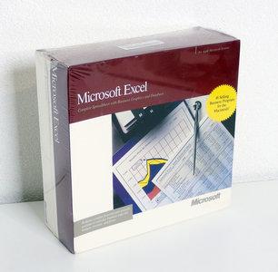 New & sealed Microsoft Excel 2.2 English 3.5'' disk Apple Macintosh spreadsheet complete in box - NIB NOS Mac vintage retro 80s
