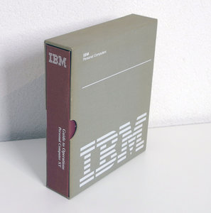 IBM Guide To Operations Personal Computer XT - manual PC 5160 vintage retro 80s