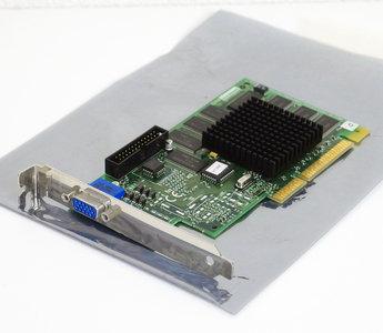 Diamond Viper V550 SDR ATXNLX 16MB P/N 23230076-103 NVIDIA Riva TNT VGA graphics video AGP PC card adapter - vintage retro 90s