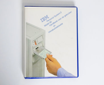 IBM Personal System/2 model 80 Handboek voor de Gebruiker en Introductie Diskette - PS/2 manual reference system disk vintage retro 80s #2