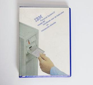 IBM Personal System/2 model 80 Handboek voor de Gebruiker en Introductie Diskette - PS/2 manual reference system disk vintage retro 80s #3