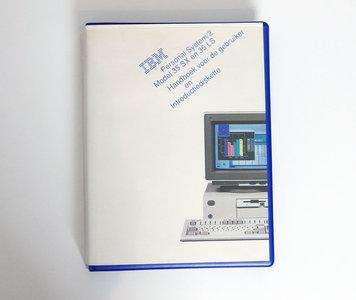IBM Personal System/2 model 35 SX en 35 LS Handboek voor de gebruiker en Introductiediskette - PS/2 manual reference system disk vintage retro 90s
