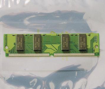 IBM FRU 92G7321 8MB 60ns 72-pin SIMM non-parity EDO RAM memory module - vintage retro 90s