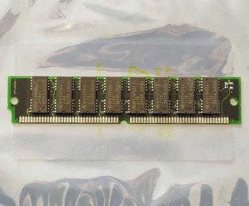 Hyundai HYM532100AM 4MB 70ns 72-pin SIMM non-parity FPM RAM memory module - vintage retro 90s