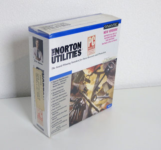 New & sealed Symantec The Norton Utilities version 6.01 English 3.5'' disk PC data recovery / protection / optimization complete in box - NIB NOS DOS vintage retro 90s