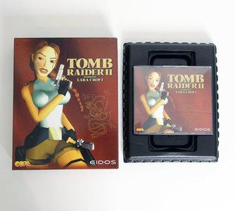 PC CD-ROM game Tomb Raider II Eidos complete - CIB big box action Windows 95 Pentium vintage retro 90s