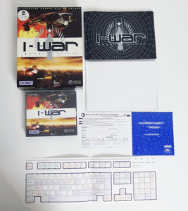 PC CD-ROM game I-War Ocean complete - CIB big box space combat simulator Windows 95 Pentium vintage retro 90s