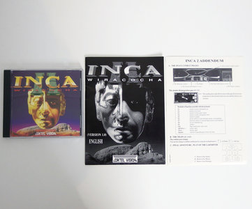 PC CD-ROM game Inca II - Wiracocha Coktel Vision - space combat DOS 486 vintage retro 90s