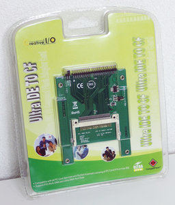 New & sealed Creative I/O Ultra IDE PATA to CF card adapter converter