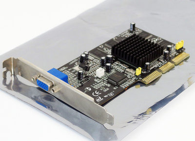 Inno3D S3 Savage4 Extreme 32MB VGA graphics video AGP PC card adapter