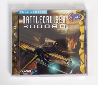 PC CD-ROM game Battlecruiser 3000AD Gametek - action DOS Pentium vintage retro 90s