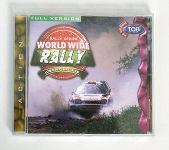 PC CD-ROM game Worldwide Rally Championship Digital Dreams - race Windows 3.x 95 Pentium vintage retro 90s