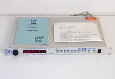 XRI Systems XR300 mtc SMPTE MIDI & SMPTE MTC synchroniser time code synchronization - vintage retro 90s