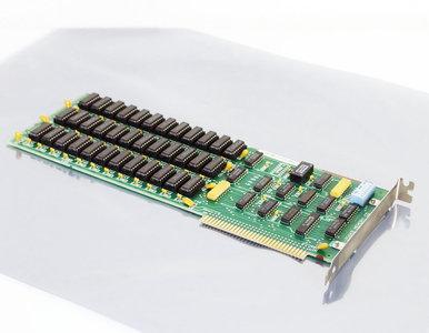 IBM 1501989 64-256KB Memory CD Expansion Option 256 KB RAM expansion 8-bit ISA card - PC XT 5150 5160 vintage retro 80s