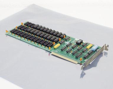 IBM 1501989 64-256KB Memory CD Expansion Option 64 KB RAM expansion 8-bit ISA card - PC XT 5150 5160 vintage retro 80s