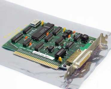 IBM 1503236 async DB-25 connector 8-bit ISA card - asynchronous interface PC XT 5150 5160 vintage retro 80s