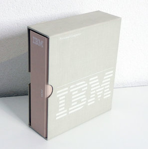 IBM DOS 2.00 English 5.25'' floppy disk PC operating system complete in box - CIB vintage retro 80s