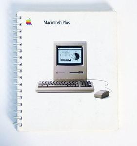 Apple Macintosh Plus manual Dutch - vintage retro 80s