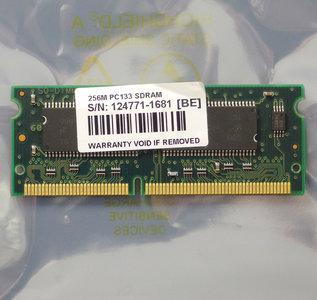 Micron 256MB PC133 144-pin SO-DIMM SDRAM memory module