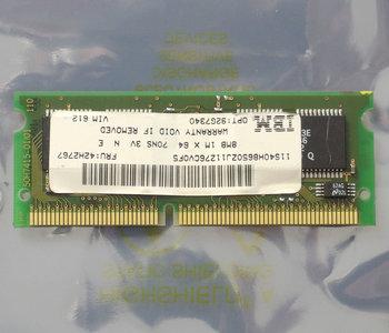 IBM FRU 42H2767 8MB 70ns 144-pin SO-DIMM EDO RAM memory module - vintage retro 90s