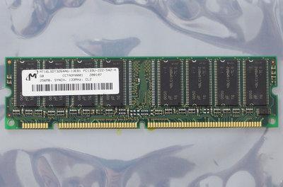 Micron MT16LSDT3264AG-13EB1 256MB PC133 CL2 168-pin DIMM SDRAM memory module