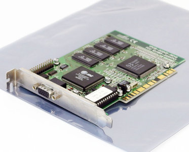 Miro YPCB-20SVD S3 Vision968 VGA graphics video PCI PC card adapter - Pentium Windows 95 vintage retro 90s