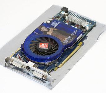 Sapphire HD 3870 ATI Radeon HD3870 512MB GDDR4 dual DVI VIVO graphics video PCIe x16 PC card adapter