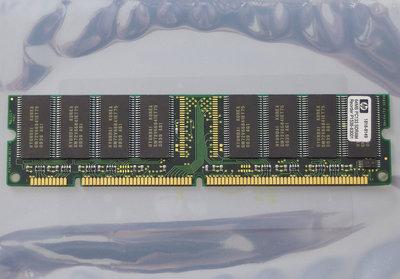 HP 1818-8149 / Hyundai GMM2649233ETG-75 64MB PC133 CL3 168-pin DIMM SDRAM memory module