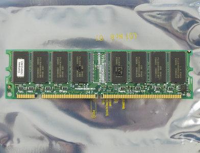 COMPAQ 323012-001 / Hyundai GMMS2649233ETG-7J 64MB PC100 CL2 168-pin DIMM SDRAM memory module