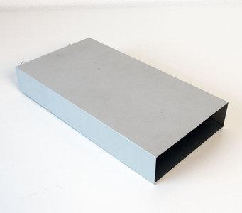 External SCSI centronics 50-pin 5.25'' CD-ROM drive grey metal case enclosure - vintage retro 90s