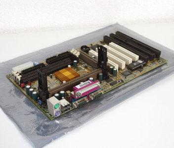 DFI P2XBL rev. D2 slot 1 ATX PC motherboard main system board - ISA PCI AGP Pentium II PII P2 III PIII P3 Intel 440BX