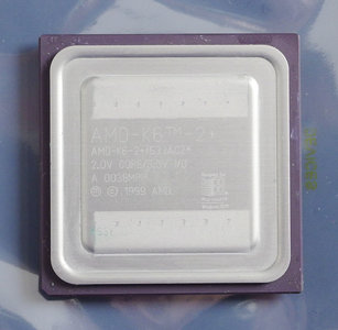 AMD Mobile K6-2+/533ACZ 533MHz super socket 7 processor - CPU 533 MHz K6-2+