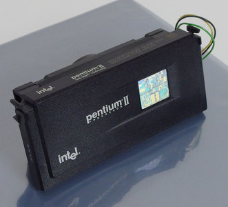 Intel Pentium II Deschutes SL2QF 333MHz slot 1 SECC processor w/ cooler - CPU P2 2 PII cartridge