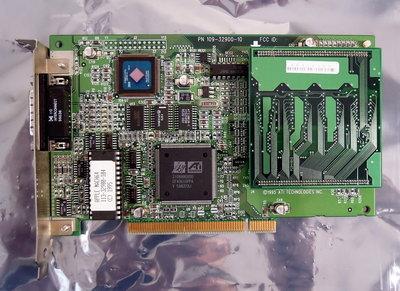 Apple 109-32900-10 Power Macintosh 9500 ATI Mach64 4 MB DA-15 color video graphics PCI card adapter - vintage retro 90s