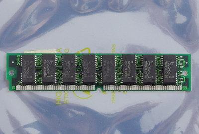 Micron MT4C4007JDJ-60 4MB 60ns 72-pin SIMM non-parity EDO RAM memory module - vintage retro 90s