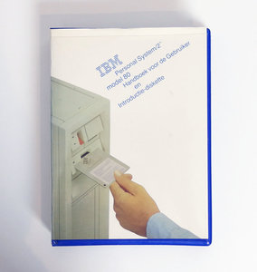 IBM Personal System/2 model 80 Handboek voor de Gebruiker en Introductie Diskette - PS/2 manual reference system disk vintage retro 80s #4