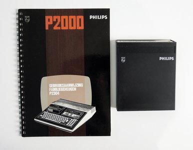 Philips P2000T P2304 Familiegeheugen cartridge - vintage retro 80s
