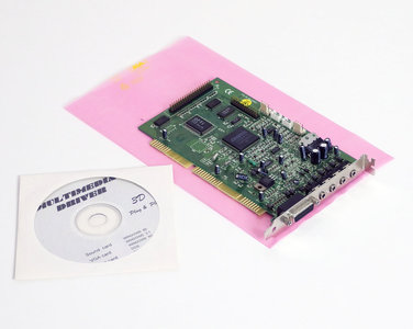 OPTi 82C924 sound / CD-ROM controller 16-bit ISA PC card - audio Crystal CS4231A 486 Pentium DOS Windows vintage retro 90s