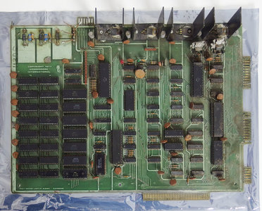 Commodore PET 2001 main system board w/ CPU + 8KB RAM + all IC's - motherboard logic 320008 1977 1978 vintage retro 70s
